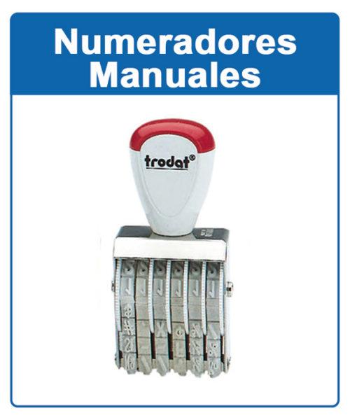 Numeradores manuales