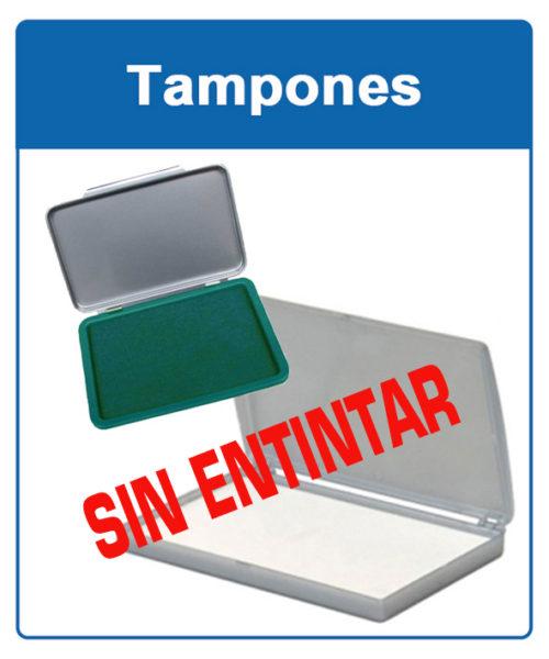 Tampones sin entintar