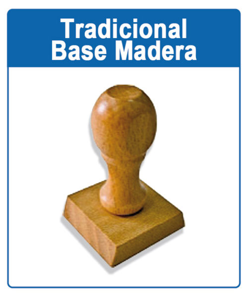 Sello base madera