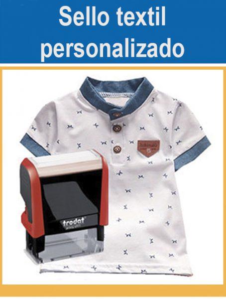 Sellos textil personalizados